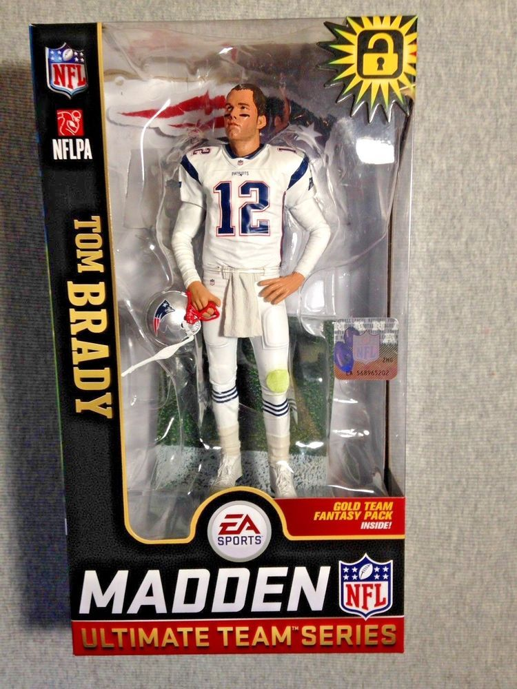 MCFARLANE NFL MADDEN 19 TOM BRADY WALMART EXCLUSIVE FIGURE Ultimate Team  Series  sports  actionfigures  figures 5ddaa7e60