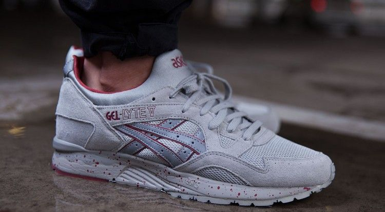 Asics Gel-Lyte V Night Shade–Light Grey-1