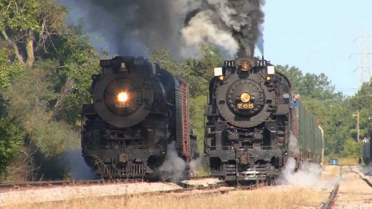 BIG TRAINS in Action #1 | Lots of Trains Pass By | Video for