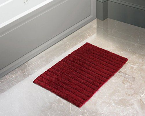 Store Indya 100 Cotton Bath Mat Rugs Ultra Soft Super Absorbent Non Slip Hand Tufted Floor Entryways Outdoor Indoor Front Bath Mat Rug Cotton Bath Mats Rugs