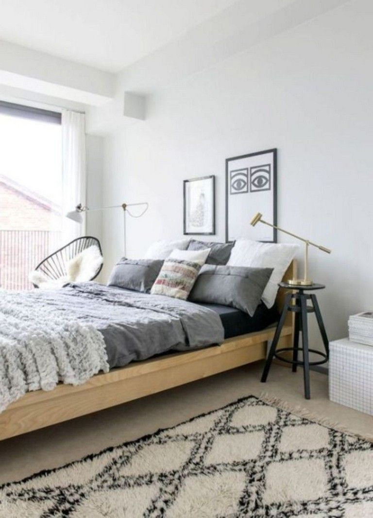 25 Gorgeous Modern Scandinavian Bedroom Design And Decor Ideas Bedroomd Modern Scandinavian Bedroom Scandinavian Design Bedroom Scandinavian Interior Bedroom