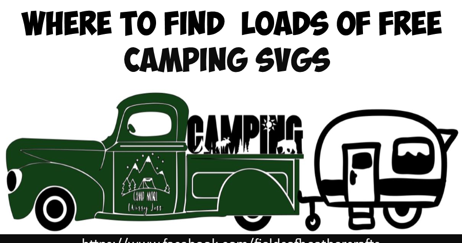 Download Free Camping Themed SVGS (With images) | Free camping ...