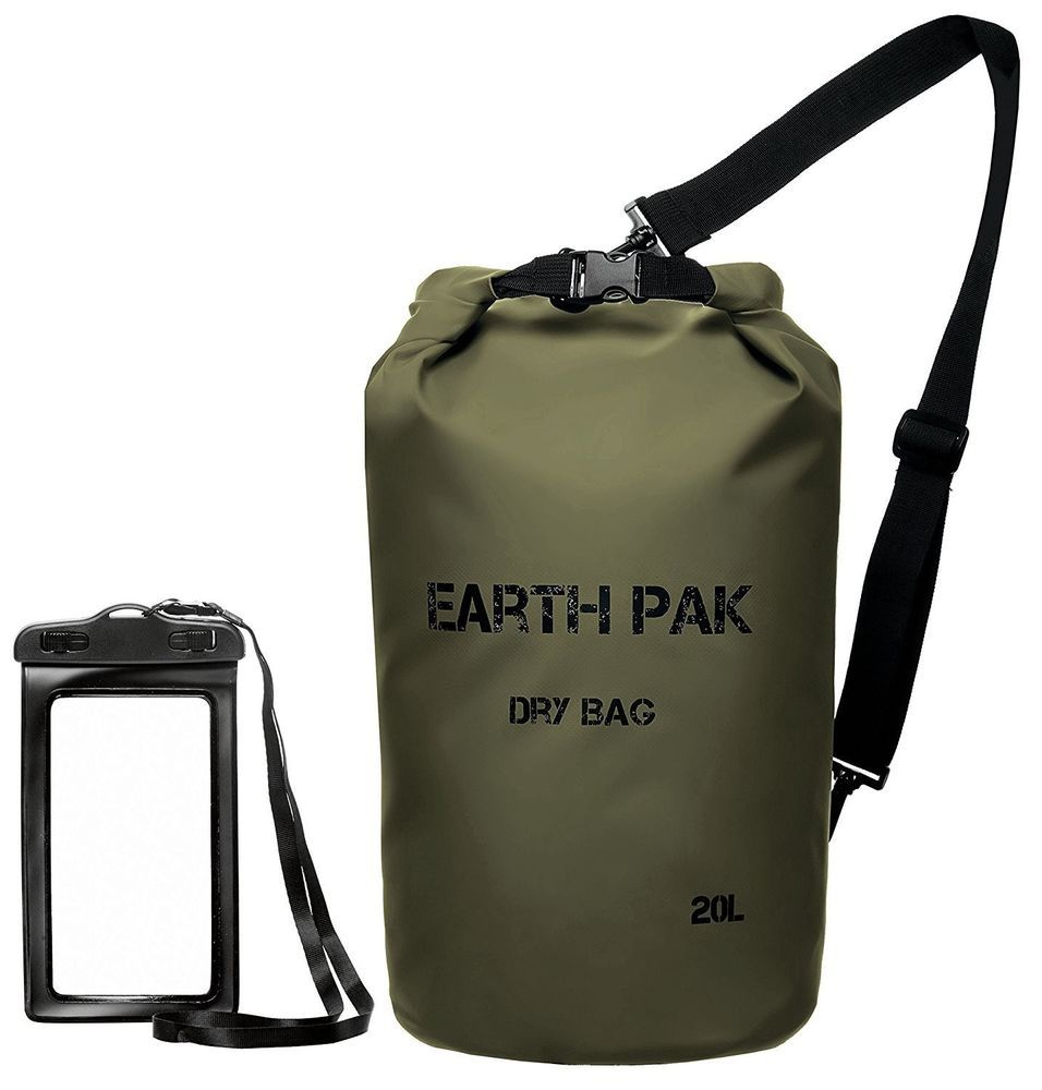 14ac0510cf6d Waterproof Dry Bag Roll Top Dry Keeps Gear Dry for Camping Hiking Outing   EarthPak