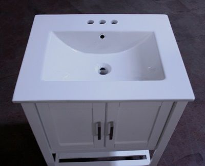 Legion Furniture WLF6020-W 24 Inch Sink Vanity without Faucet