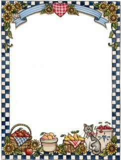 Jytb39 Marcos Frame Pinterest Recipe Cards Clip Art