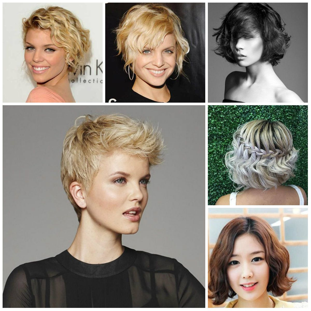 2016 Por Short Wavy Hairstyles 2017 Haircuts And