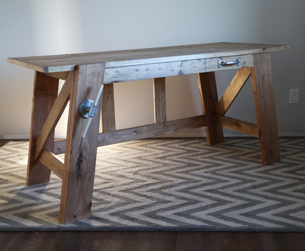 Ana White Build A Henry Desk Free And Easy Diy Project Furniture Plans