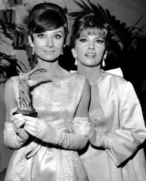 Audrey Hepburn & Gina Lollobrigida