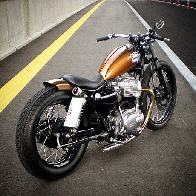 garage project motorcycles • awesome #kawasaki #w650 #bobber with