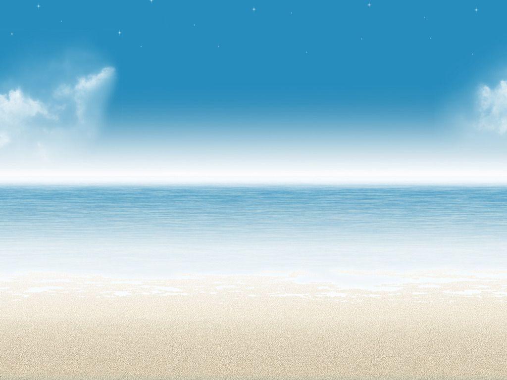 Ceu Mar Paisagem Fundo Areia Praia Areia Fundos Mares