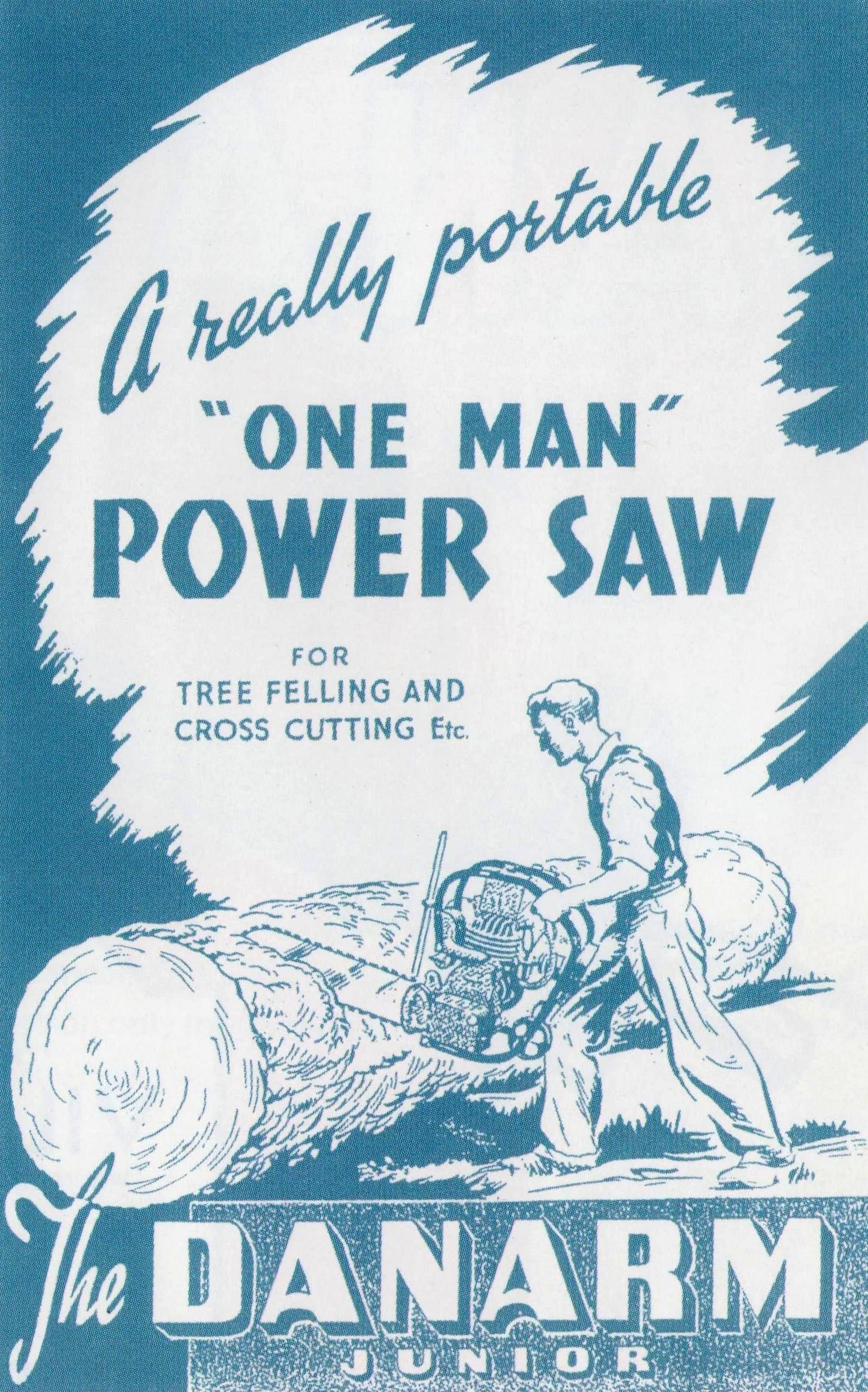 A Really Portable One Man Power Saw