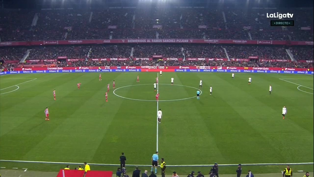 Pin on goals La Liga 17/18 J25 Sevilla vs. Atletico