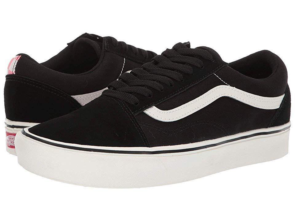 Vans Comfycush Old Skool Athletic Shoes (Split) Black