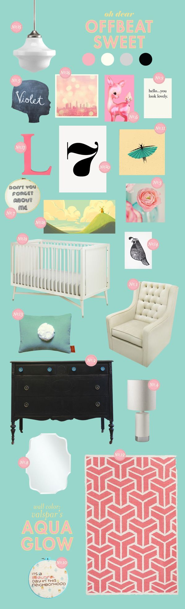 Sweet Pinned for all my girlfriends who have babies, for the expectant moms, and anyone who just loves nurseries. So full of cute and amazing ideas I think I might want to re-do Elyse's room every month!    Pinned for all my girlfriends who have babies, for the expectant moms, and anyone who just loves nurseries. So full of cute and amazing ideas I ...