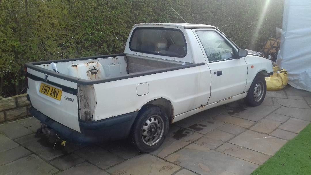 2000 skoda felicia pickup vw caddy pick up spares or repairs | Vw ...