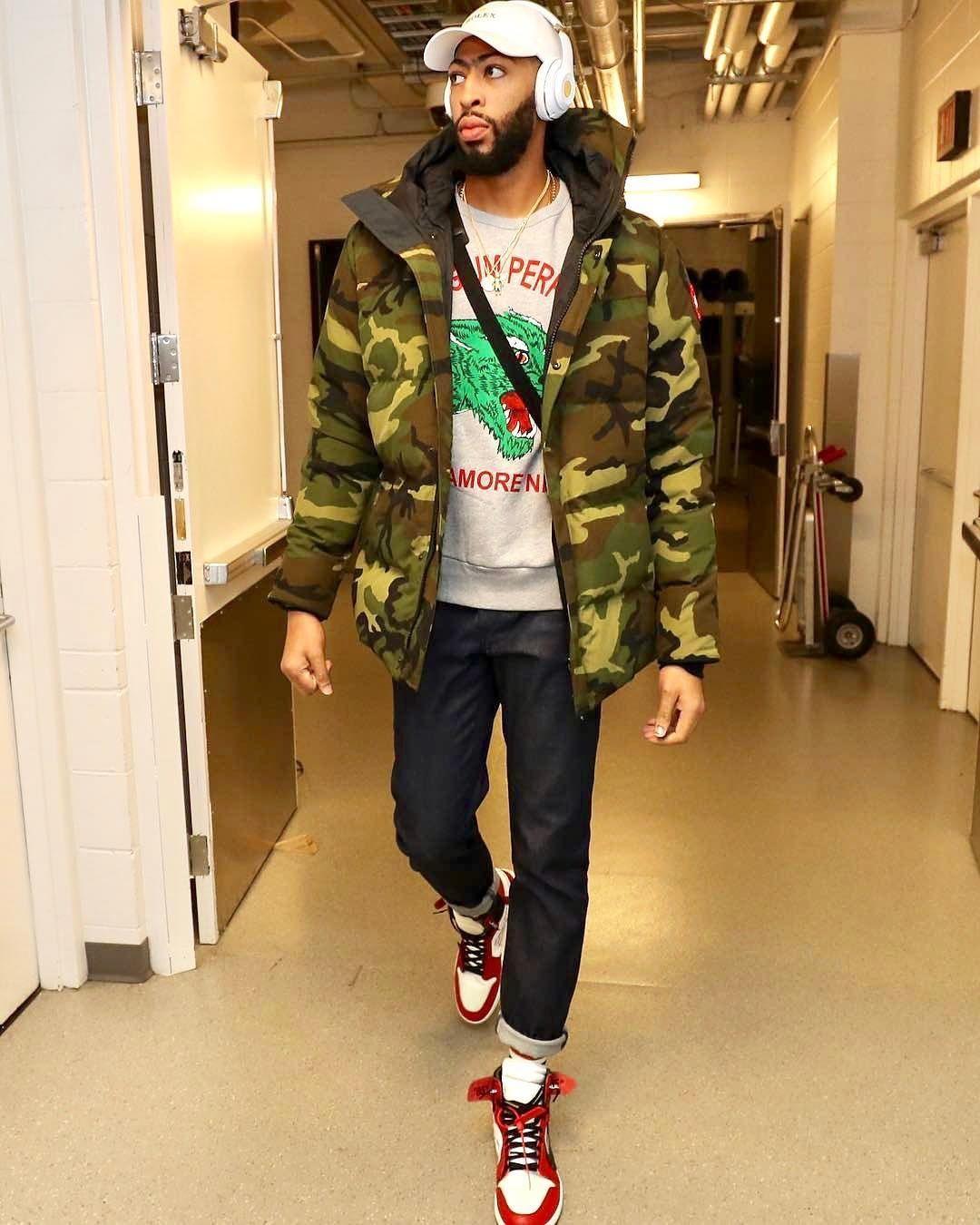 info for f0ec5 a7227 NBA Style Anthony Davis  fashion  nbastyle  ootd  nba  style  styles   streetstyle  streetwear  streetfashion  fashioninspo  styleinspiration   inspo  urban ...