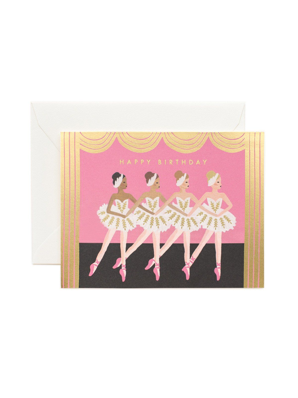 Rifle Paper Co Happy Birthday Ballet Card