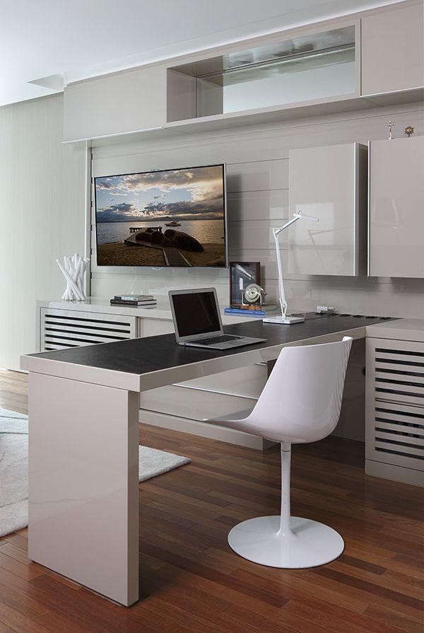Apartamento contemporneo e masculino Projeto da arquiteta