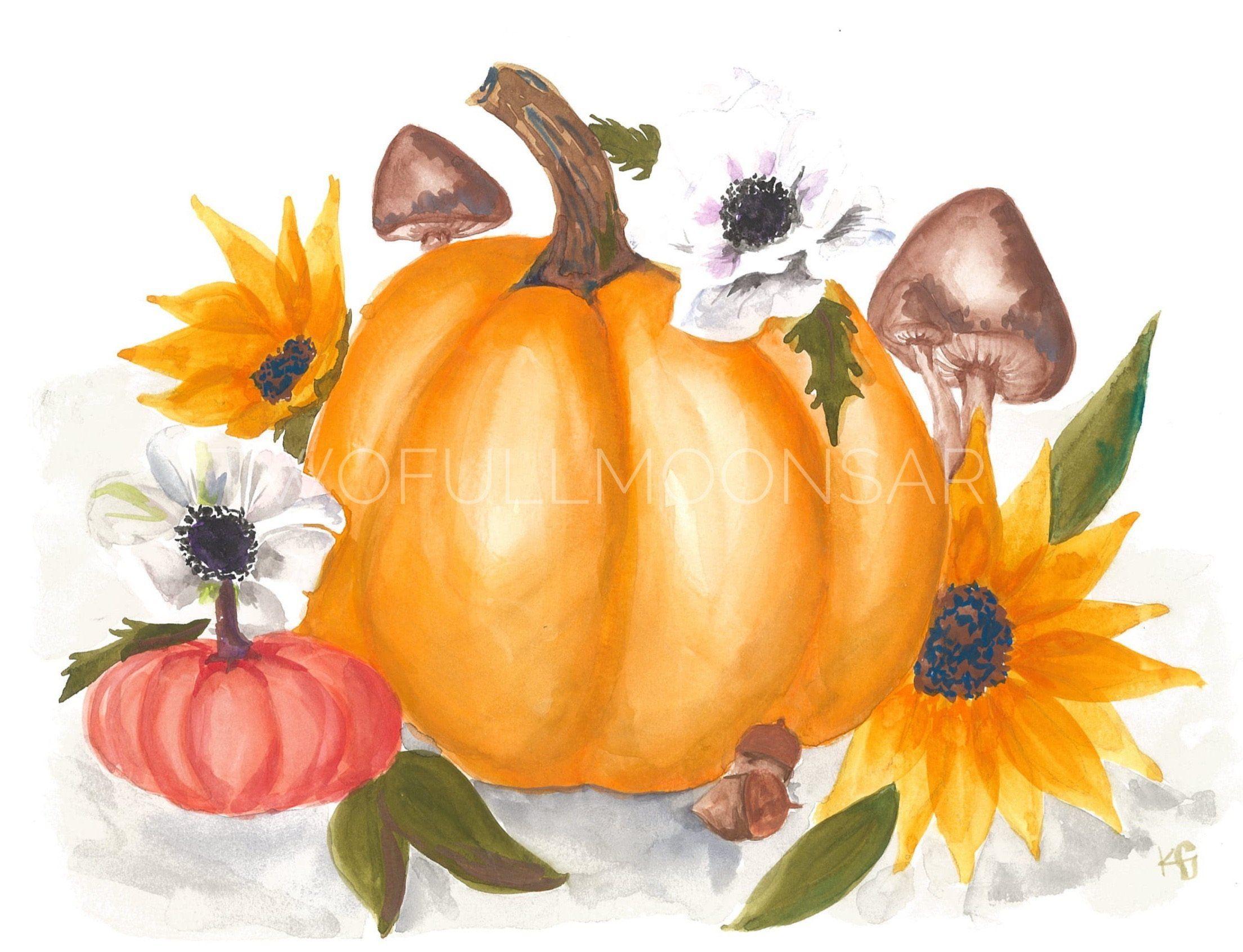 Pumpkins - 5x7