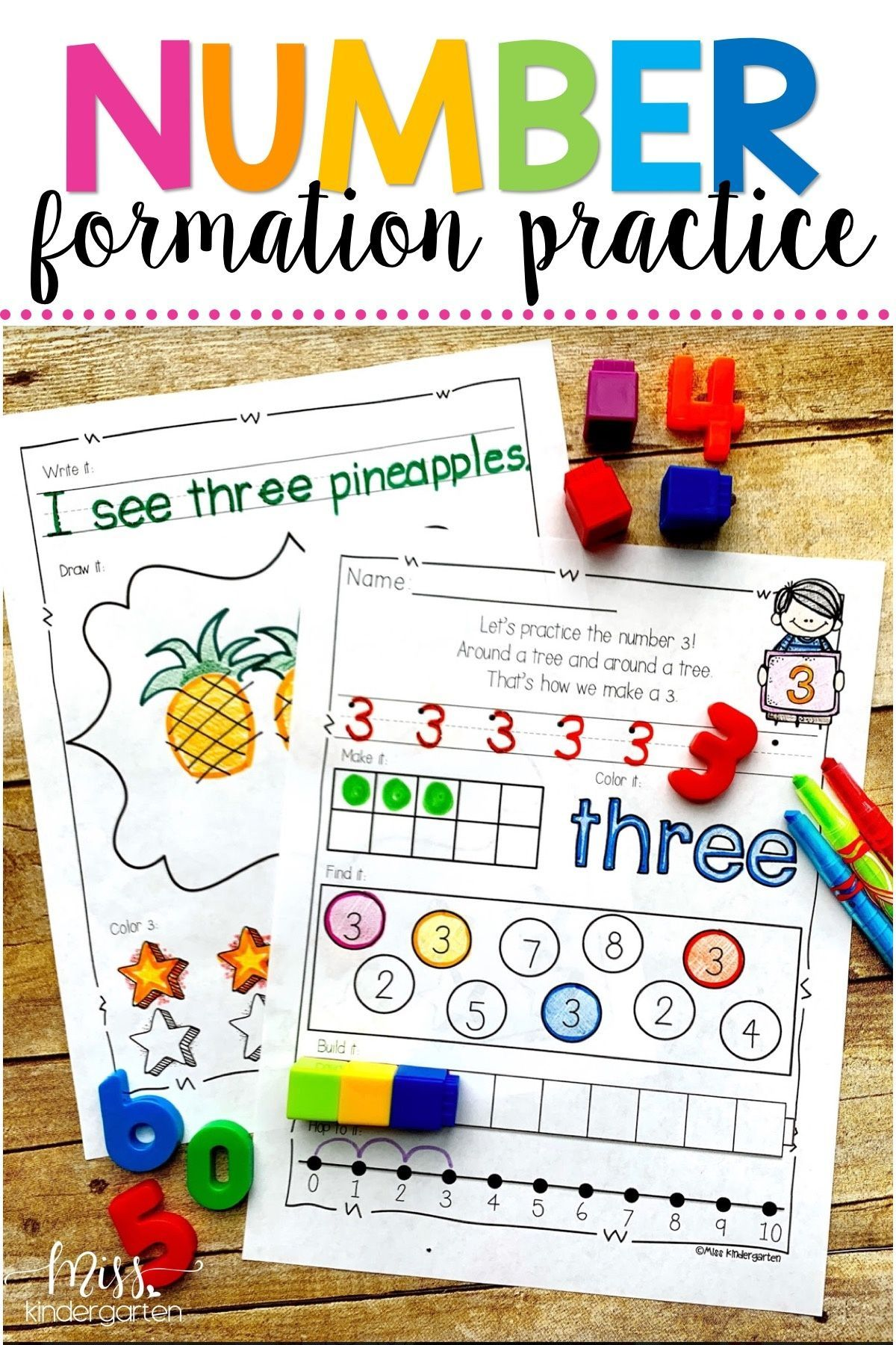Number Practice Printables 0 20 With Images