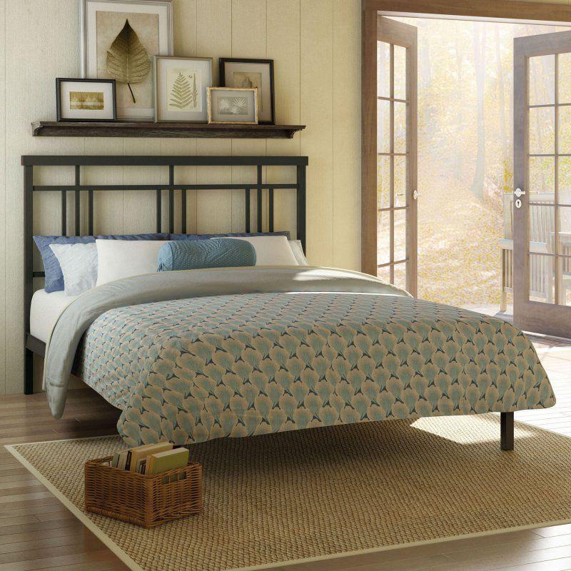 Amisco Cottage Platform Bed Textured Dark Brown, Size: Full - 14378 ...