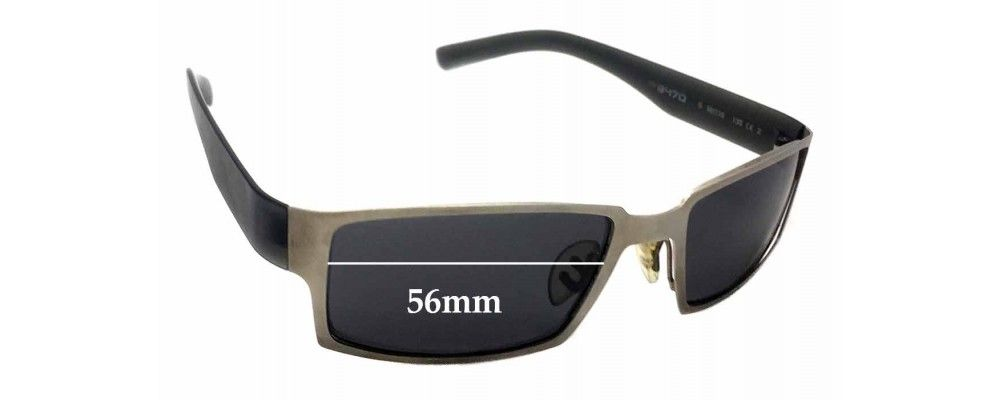 50edd671f5 Sunglass Fix Replacement Lenses for Porsche Design P 8470 - 56mm wide