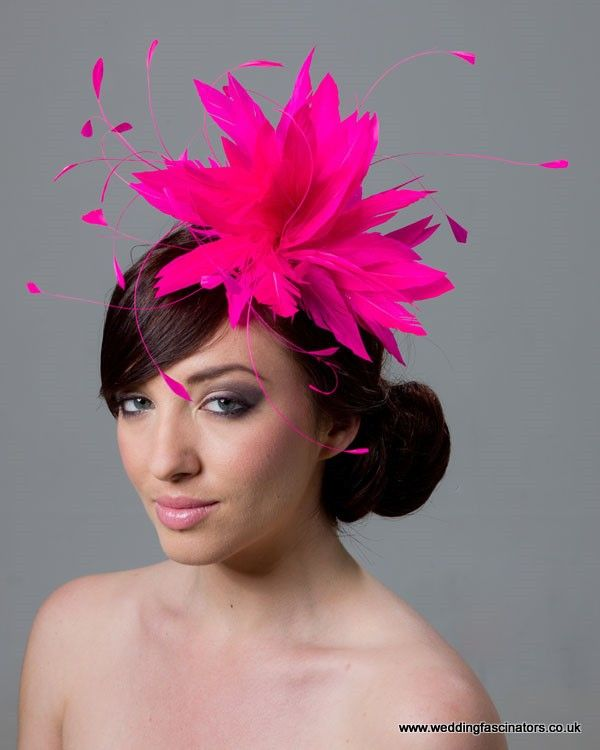 Cerise Pink Fascinator Belgravia Fascinators By Jemma Loveridge