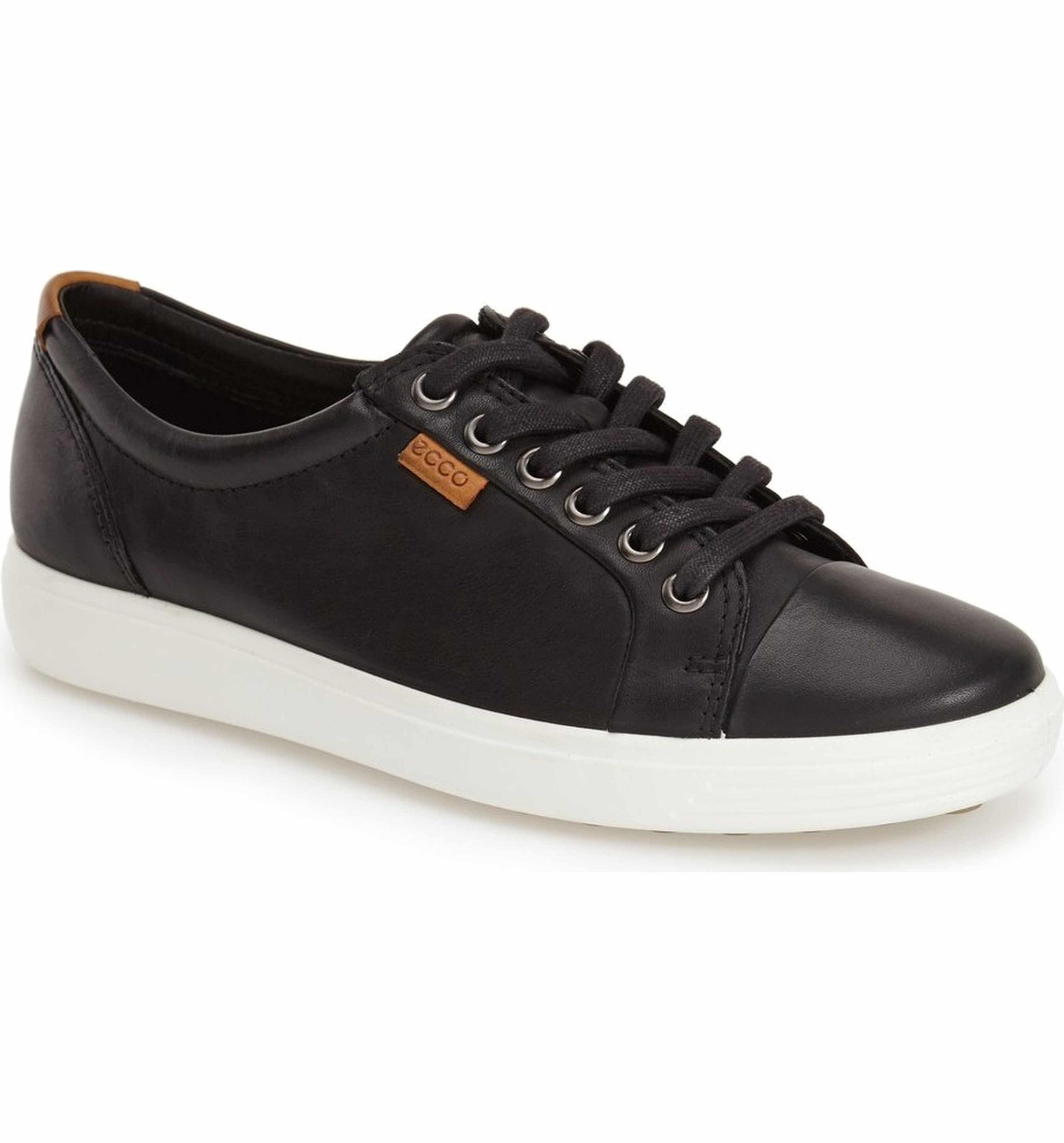 ECCO 'Soft 7' Cap Toe Sneaker (Women