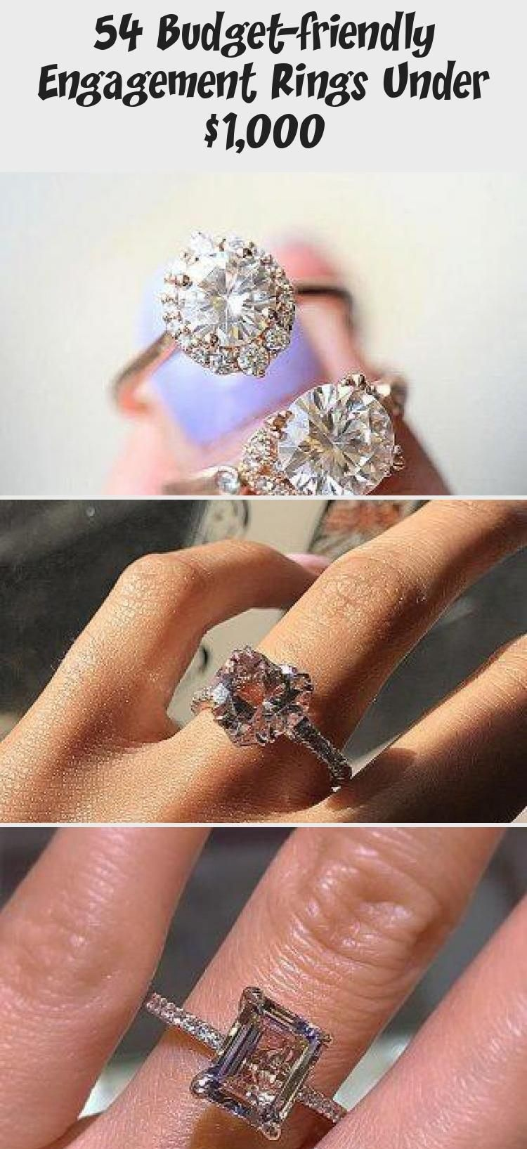 Budgetfriendly engagement rings under 1000