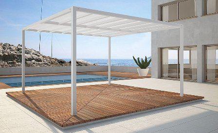 prgolas de aluminio para jardines o terrazas - Pergolas De Aluminio