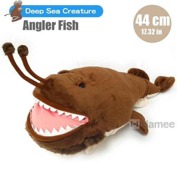 Deep Sea Creature Angler Fish Plush (44 cm) – Hamee | deep sea ...