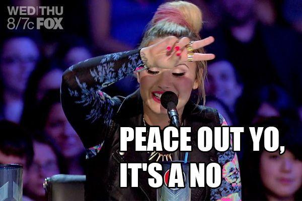 peace out yo its a no