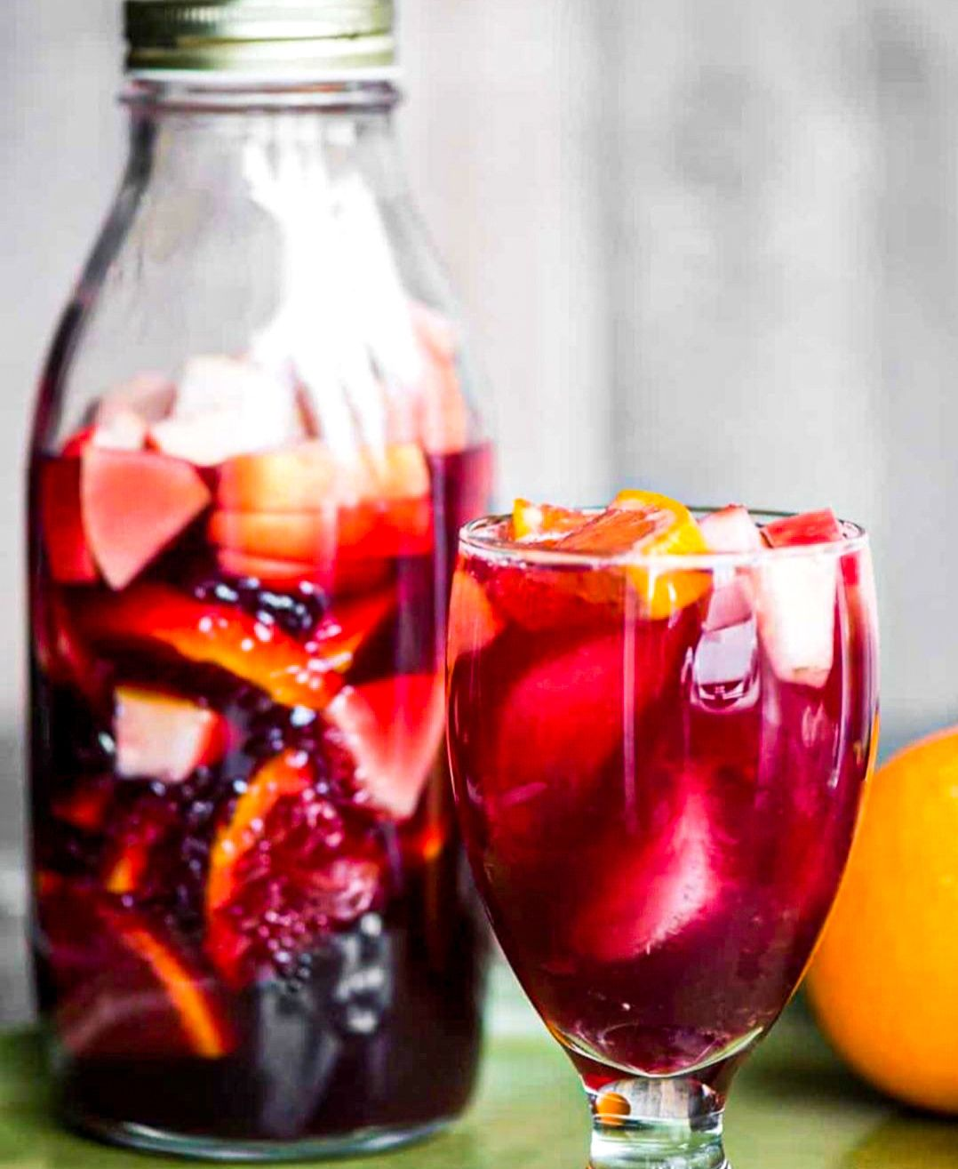 Breakfast Care: Red Sangria