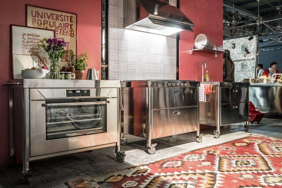 LIBERI IN CUCINA Modulo cucina con piano cottura by ALPES-INOX ...