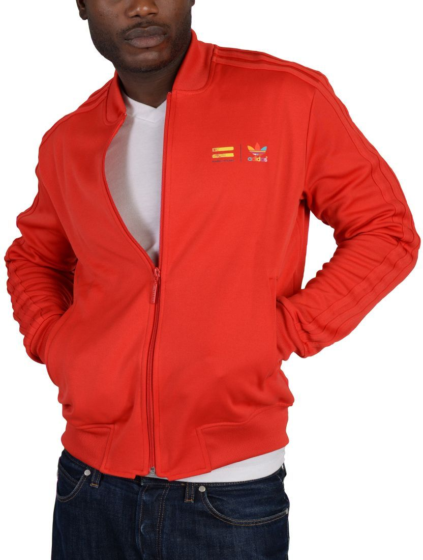 b06ff273e Price, Review, and Buy adidas Red/Multi Sport Jacket For Men | Egypt | Souq