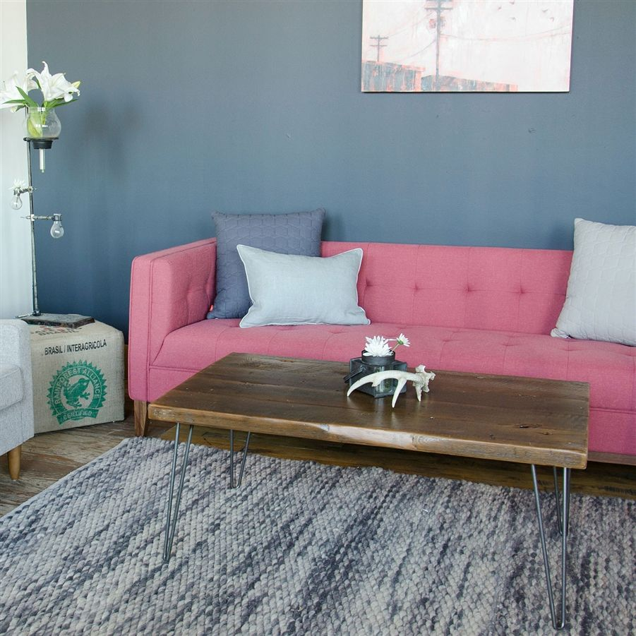 Urban Loft Reclaimed Wood Coffee Table | Wood coffee tables, Green ...