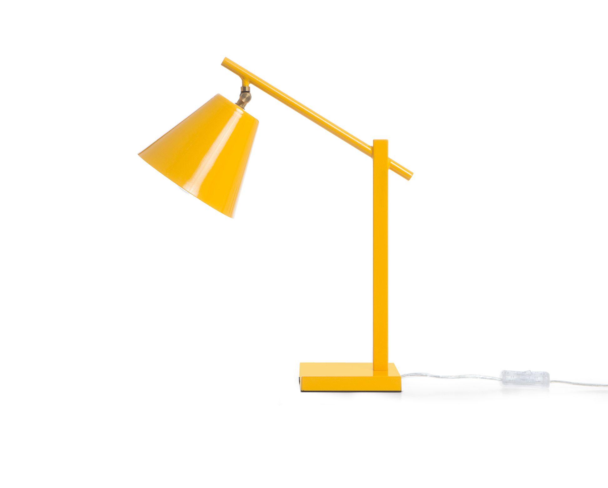 Luminária de Mesa Foco - Amarela