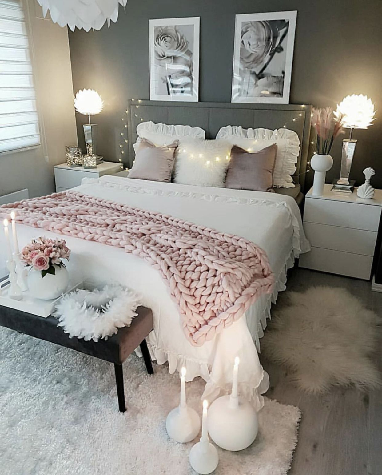𝓗𝓮𝔂 Want To See More Pins Like This Or Maybe The Latest 𝒷𝑒𝒶𝓊𝓉𝓎 𝓉𝓇𝑒𝓃𝒹𝓈 Deco Chambre Parental Deco Chambre Coconing Decoration Chambre Ado