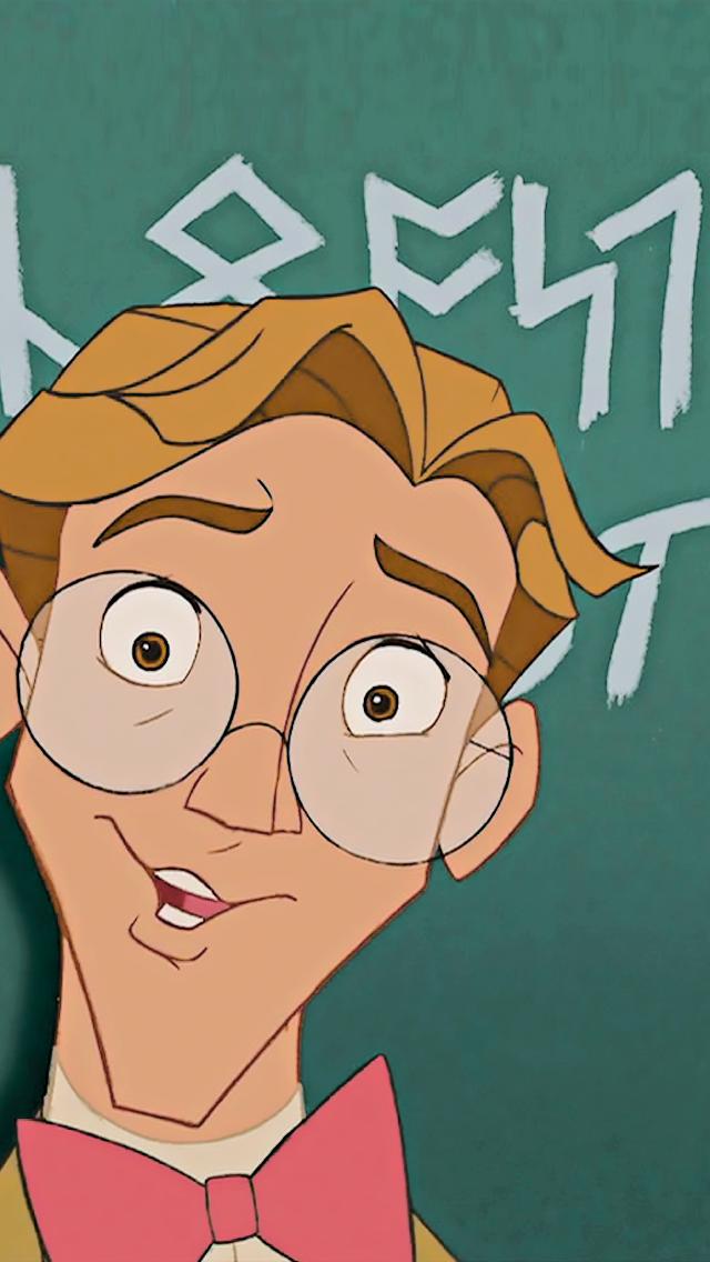 Milo Disney S Atlantis The Lost Empire Disney Disney Doodles Disney Animated Movies Milo Disney