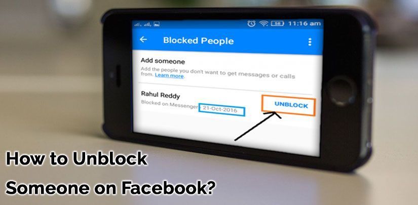 Unblock Facebook Feature Is Simple With The Given Steps You Can Block Or Unblock Someone On Mess Facebook Features Social Networking Sites Blocked On Facebook