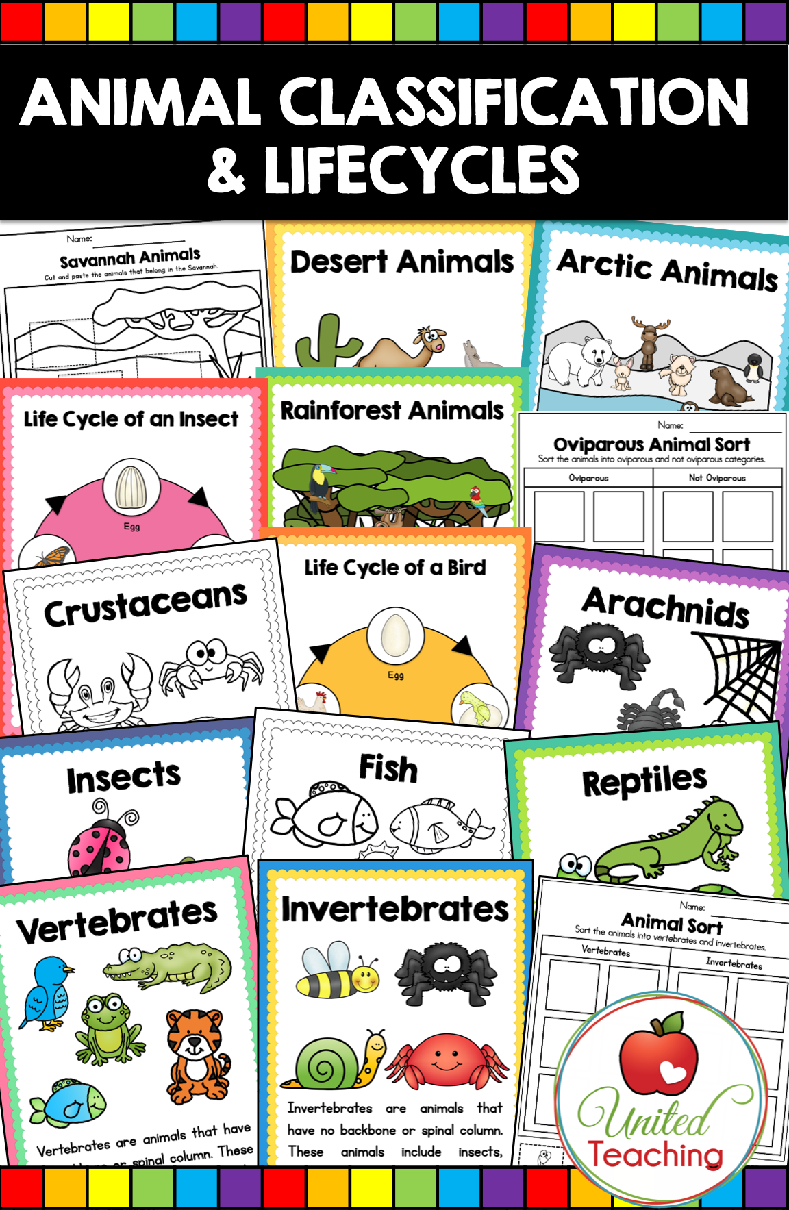 Animal Classification Amp Life Cycles