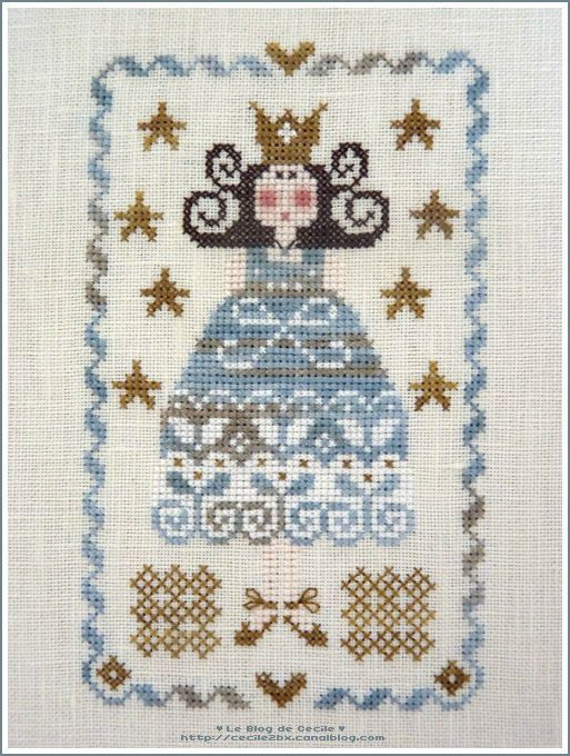 Tralala princesse bleue | My Princess patterns | Pinterest | Punto ...