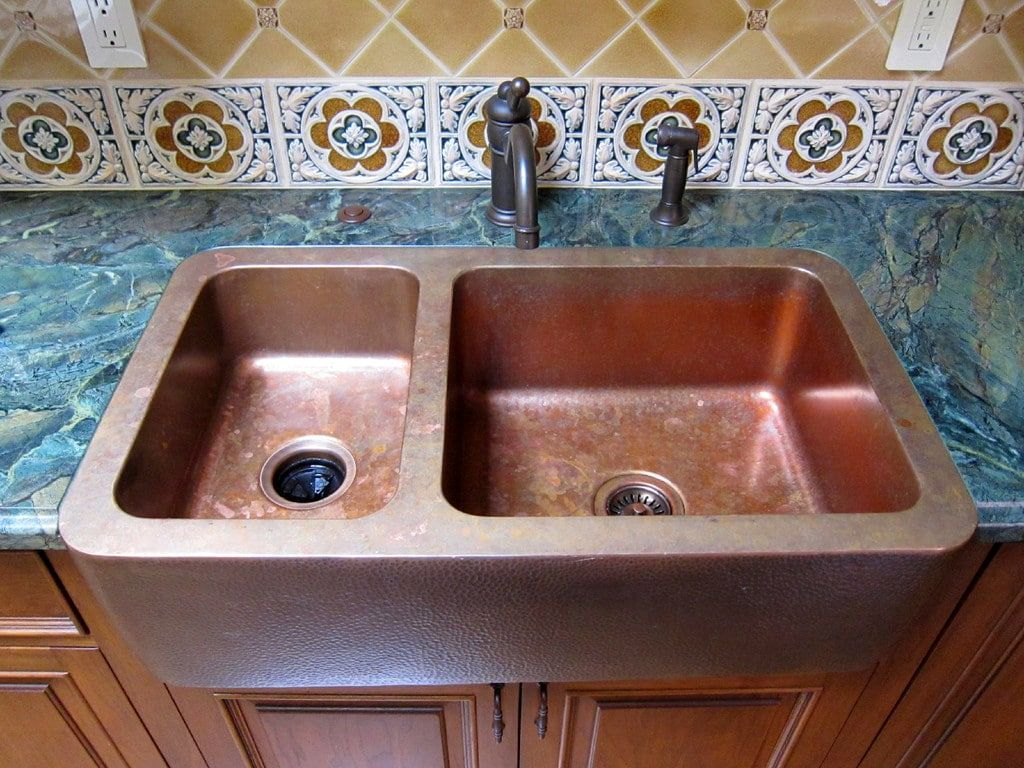 Elegant Picture Of Ceramic Kitchen Sinks Pros And Cons Copper Angies List