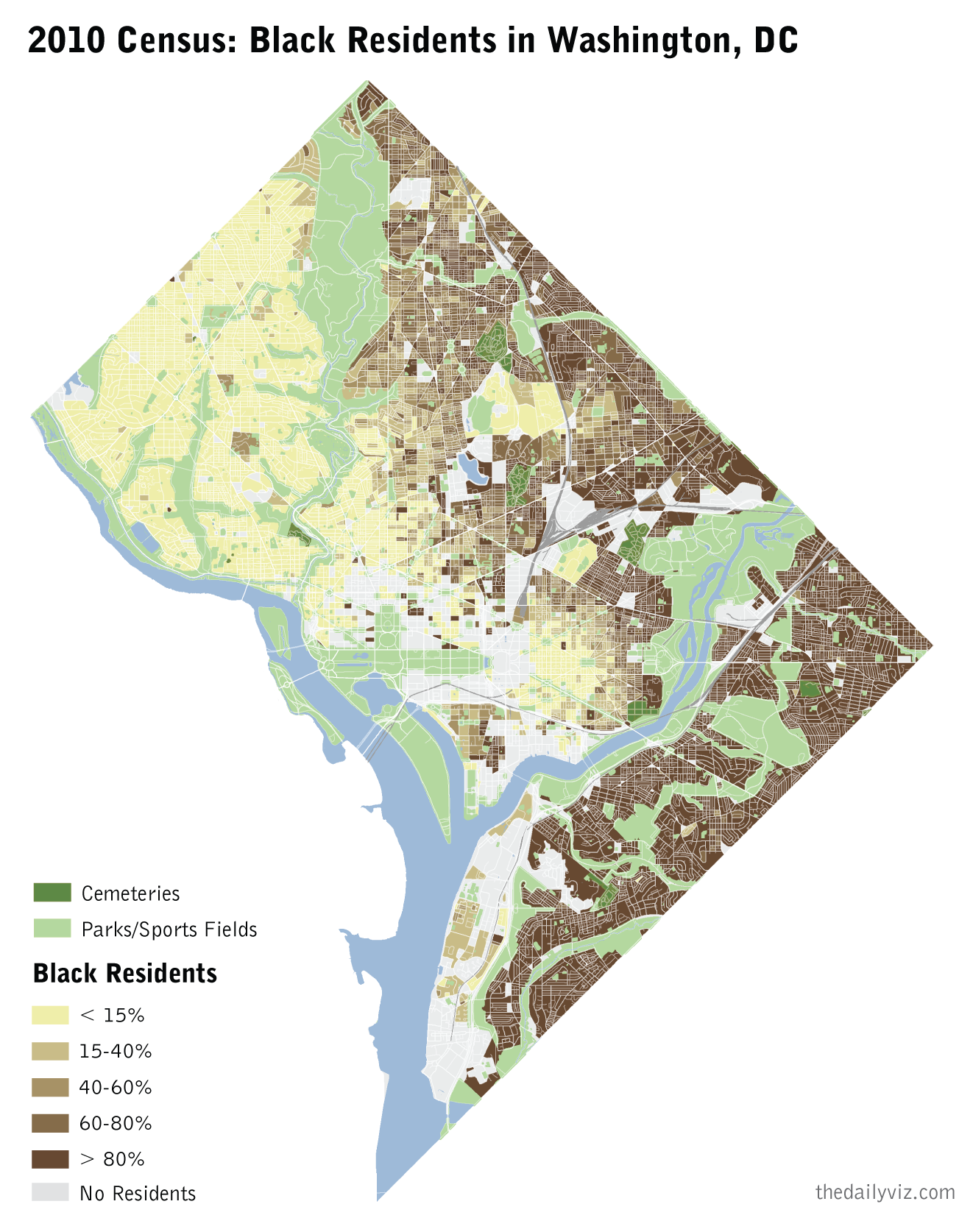 Black Population In DC Quantitative Italy And DC Pinterest - Washington dc ethnicity map
