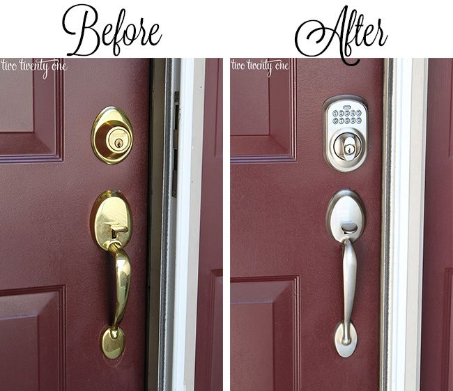 Dress Up Your Doors 100 Lowes Giveaway Front Door Makeover