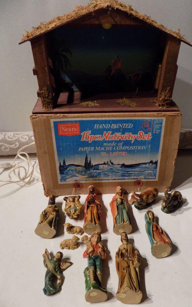 NATIVITY SCENE JEWELRY BOX THE HOLY FAMILY JEWELRY BOX FROM BETHLEHEM