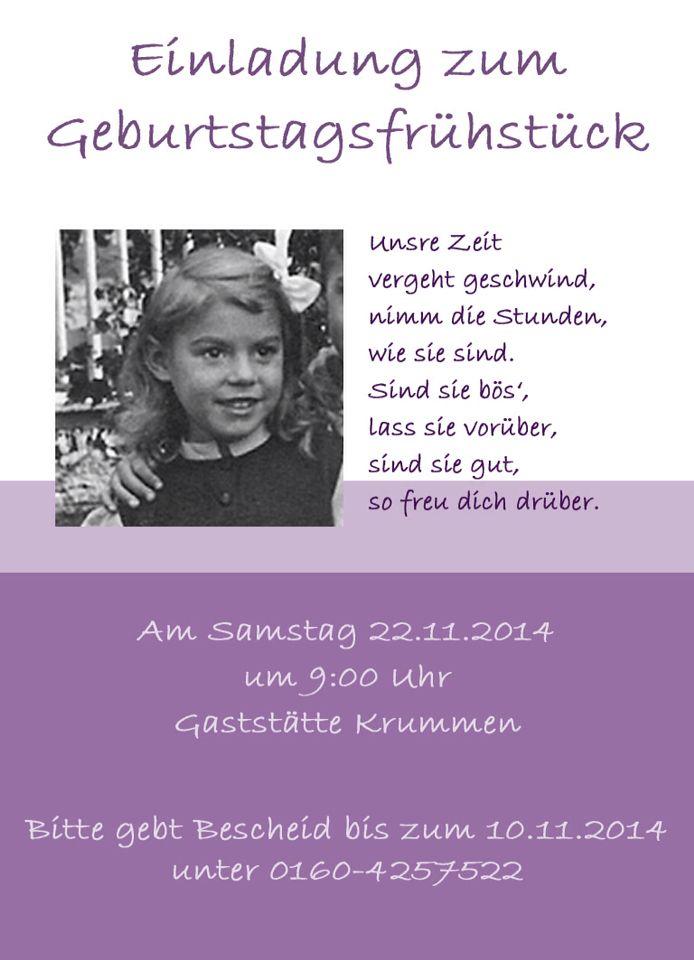 Einladung Flyer 70 Geburtstag Spruche Zum Geburtstag Lustige