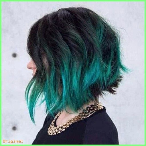 50+ kurze Haare – Bob Perücken Echthaar schwarze Farbe verblassen zu mehrfarbigen lockigen Echthaarperücken #haar …