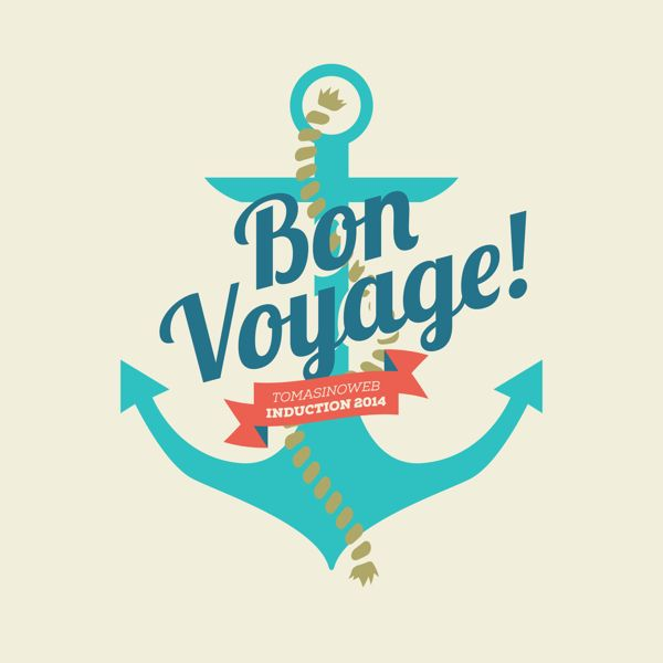 Pin by Fred B on farewell | Bon voyage, Voyage, Logo clipart