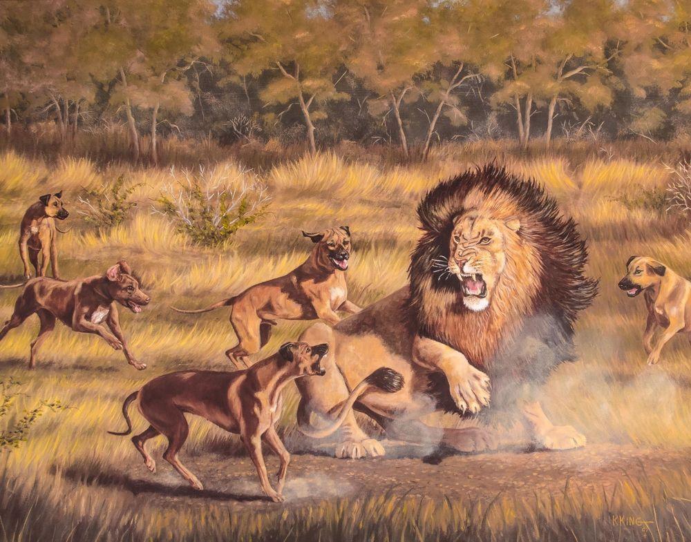 Rhodesian Ridgeback Si...